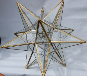 Second 24″ Star lamp no.1