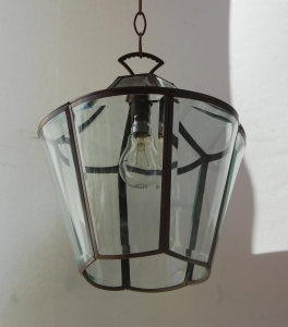 Pair of antique wall lamps no.7